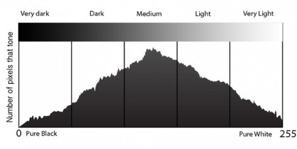 Histogram in DSLR